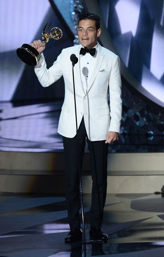 Emmy 2016: Rami Malek wygrywa za rolę w Mr. Robot!