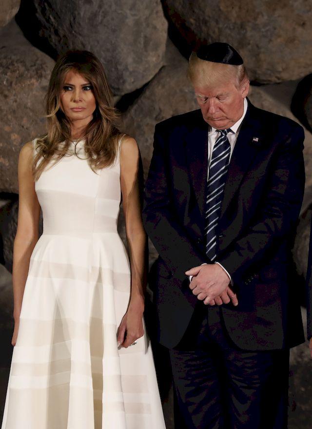 Melania Trump ZEMŚCIŁA się na projektantach mody
