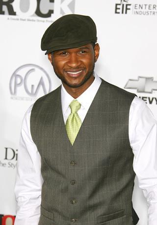 Kim gardzi Usher?