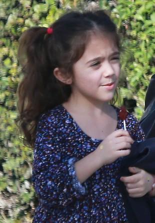 Valentina Pinault (córka Salmy Hayek) ma bogatą mimikę FOTO