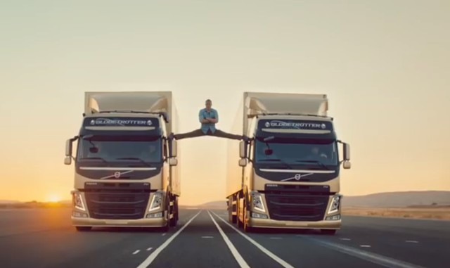 Jean Claude Can Damme w reklamie Volvo... WOW!