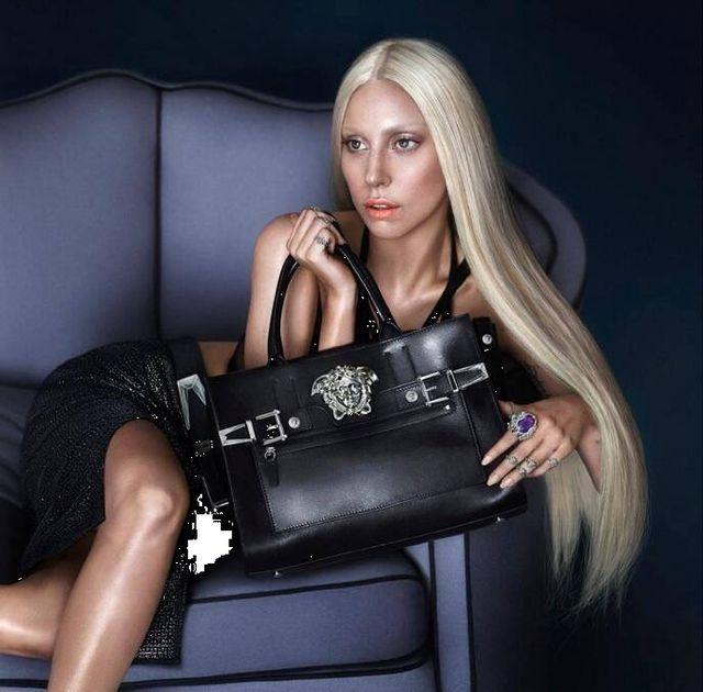Lady Gaga reklamuje Versace (FOTO)