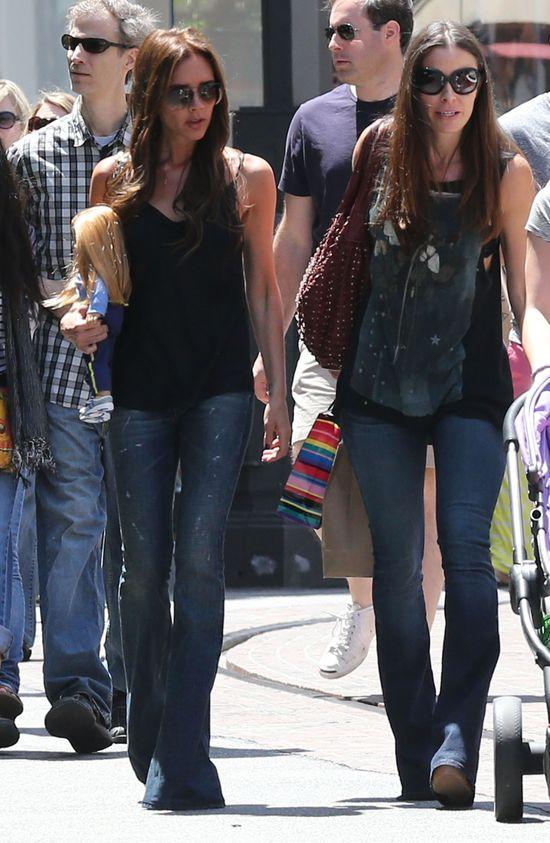 Victoria Beckham z dziećmi na zakupach (FOTO)
