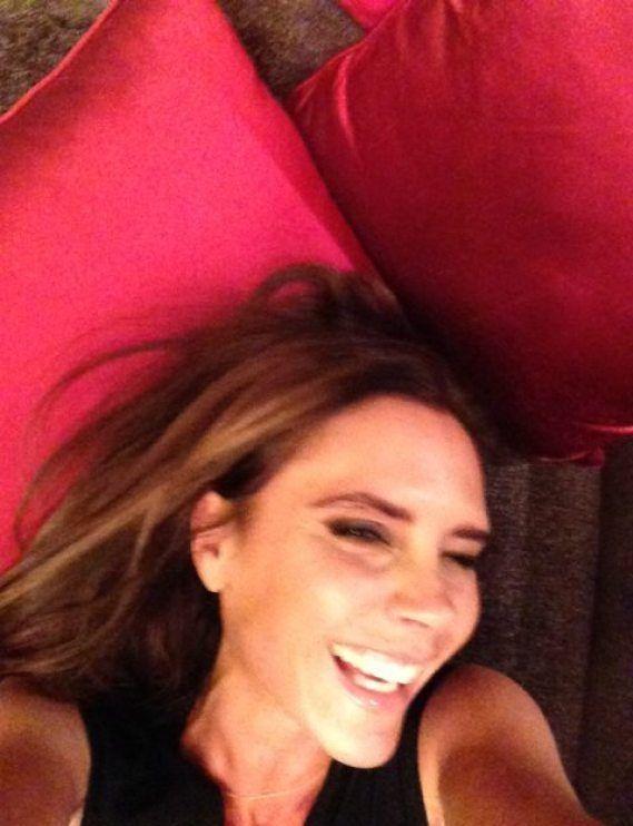 Na wzgórzach Hollywood nawet Victoria Beckham się uśmiecha