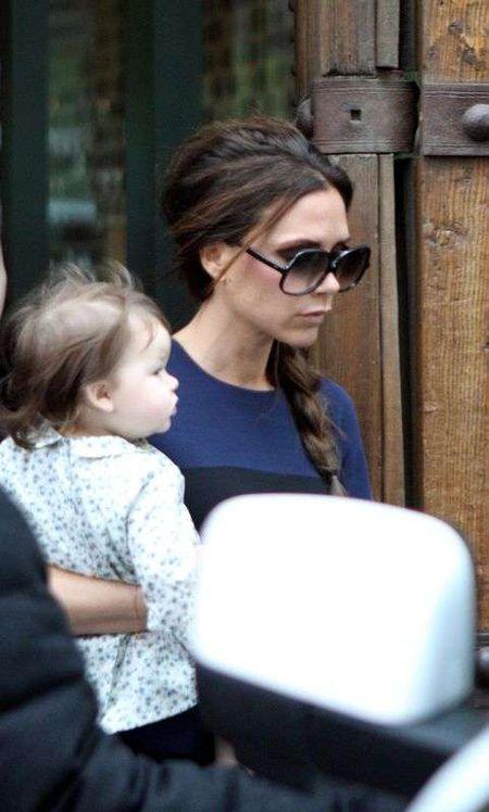 Victoria Beckham z córką Harper próbują kuchni chińskiej
