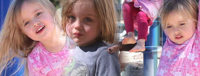 Knox i Vivienne Jolie-Pitt na placu zabaw (FOTO)