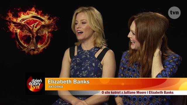Wendzikowska o sile kobiet - z Moore i Banks