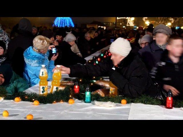 Wigilia w Radomiu - żenada roku? (VIDEO)