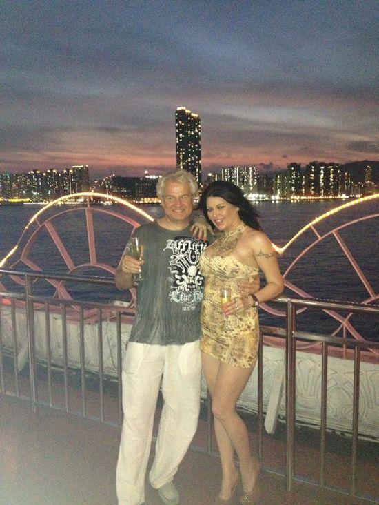 Iwona Węgrowska chwali się fotkami z Hong Kongu (FOTO)