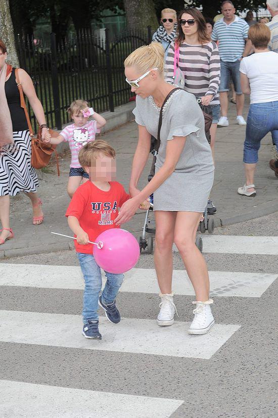 Weronika Książkiewicz z synkiem (FOTO)