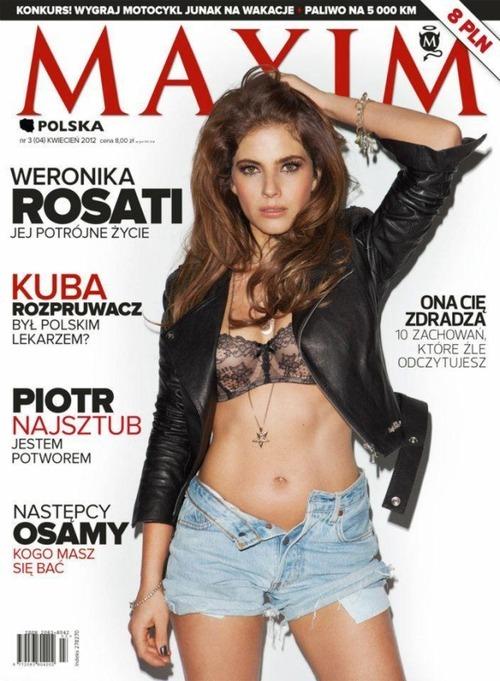 Weronika Rosati zagra w polskim serialu