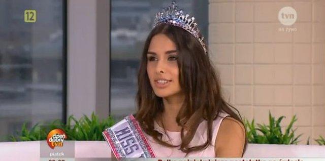 Miss nastolatek, Weronika Szmajdzi�ska, to chodz�cy idea�
