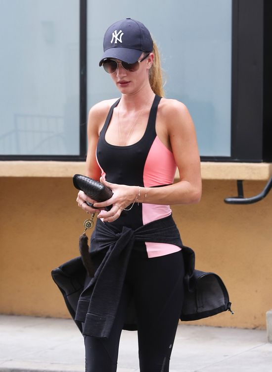 Jak Rosie Huntington Whiteley dba o sylwetk�?