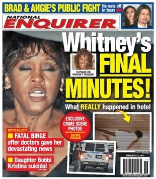Pokazali zdjęcie ciała Whitney Houston na okładce! (FOTO)