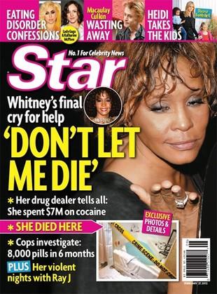 Były szofer Whitney: Paliła crack przy córce