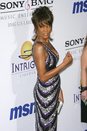 Jak to jest sypiać z Whitney Houston?