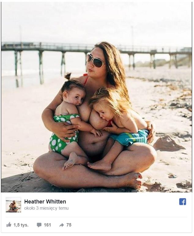 Udostępniła wyjątkowe rodzinne zdjęcie. Facebook oskarzył ich o... pedofilię!