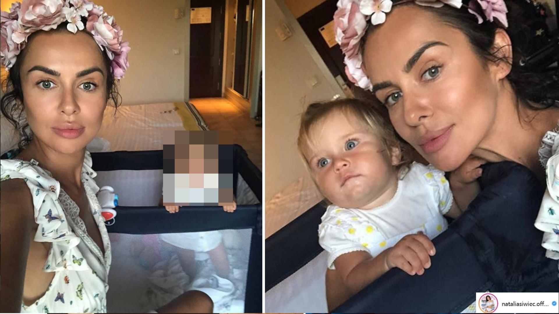 Rozczulająca mina córeczki Natalii Siwiec na zdjęciu podbija Internet!
