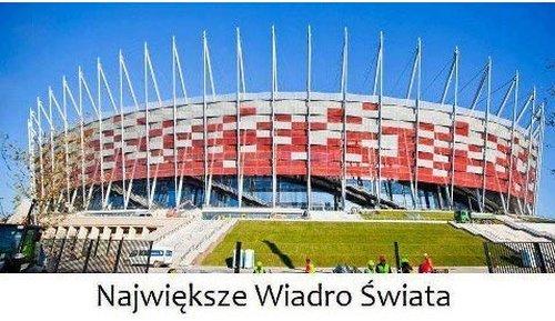 Stadion Narodowy przechrzczony na Basen Narodowy