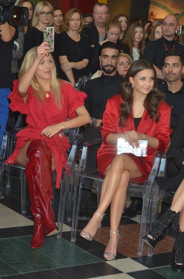 Wieniawa i Mercedes w czerwieni na pokazie Sephory (ZDJĘCIA)