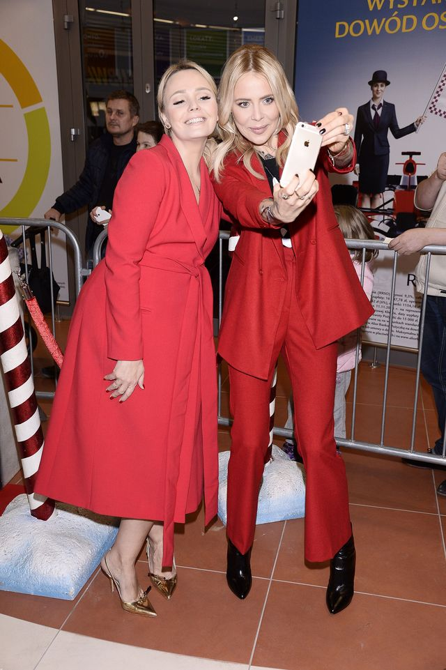 Gwiazdy całe w czerwieni na świątecznych warsztatach (FOTO)