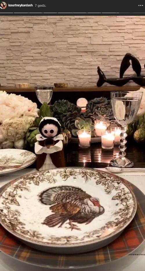 Scott Disick Święto Dziękczynienia spędził z Kourtney i dziećmi (ZDJĘCIA)