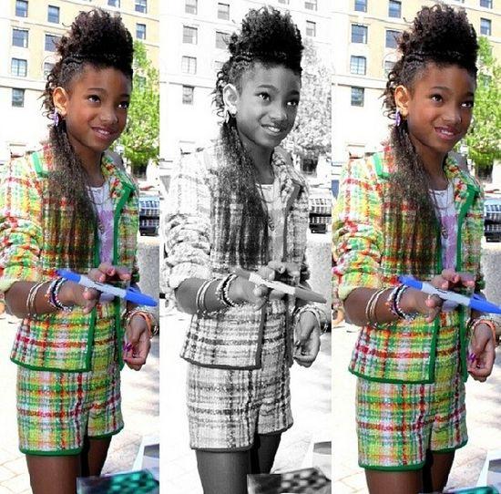 Jak wygląda 13-letnia Willow Smith bez peruki? (FOTO)