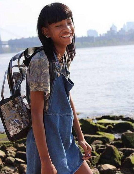 Jak wygl�da 13-letnia Willow Smith bez peruki? (FOTO)