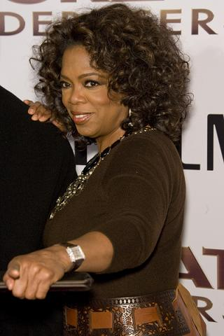 Oprah Winfrey i mężczyzna w ciąży