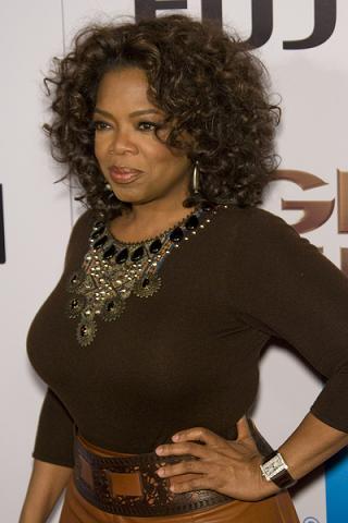 Oprah Winfrey najhojniejsza