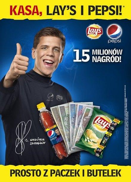 Wojciech Szcz�sny zosta� now� twarz� marki Pepsi (FOTO)