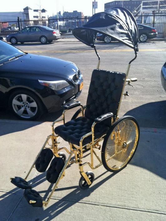 Lady Gaga nie potrzebuje już wózka
