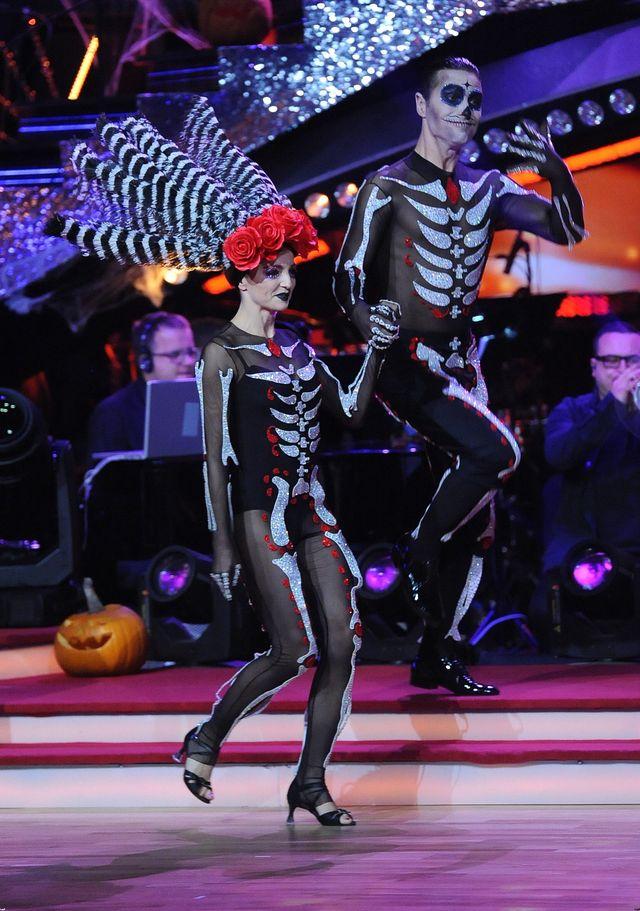 Halloweenowy odcinek Ta�ca z gwiazdami (FOTO)