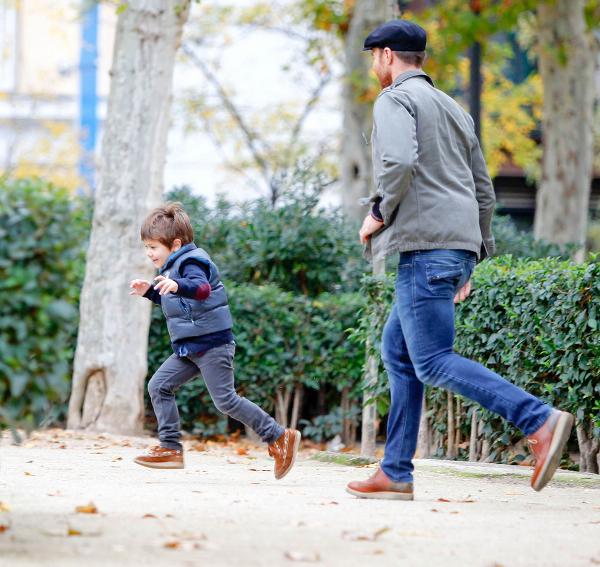 Xabi Alonso świętował urodziny z żoną i dziećmi (FOTO)