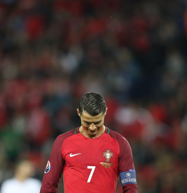 Dramat Cristiano Ronaldo w finale Euro 2016! (VIDEO)