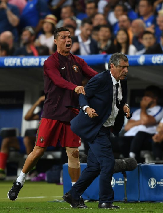 Cristiano Ronaldo udowodnil, że mogłby być dobrym... trenerem? (VIDEO)