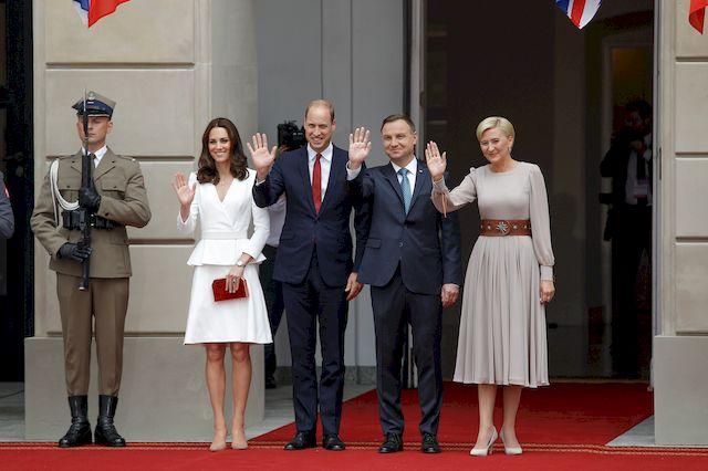 Książę William i Księżna Kate żegnają się z Polską wyjątkowym wpisem