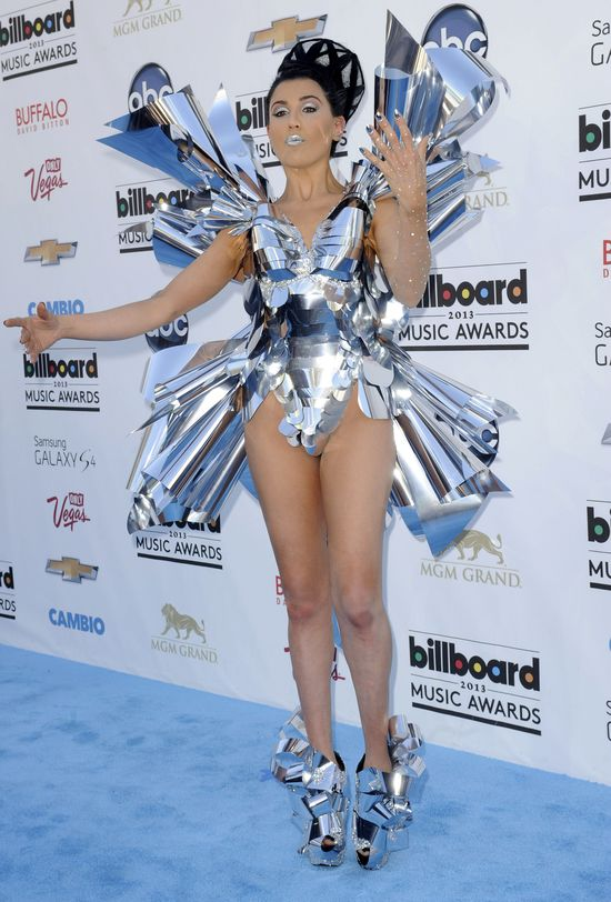 Metaliczna Z Lala na Billboard Music Awards (FOTO)