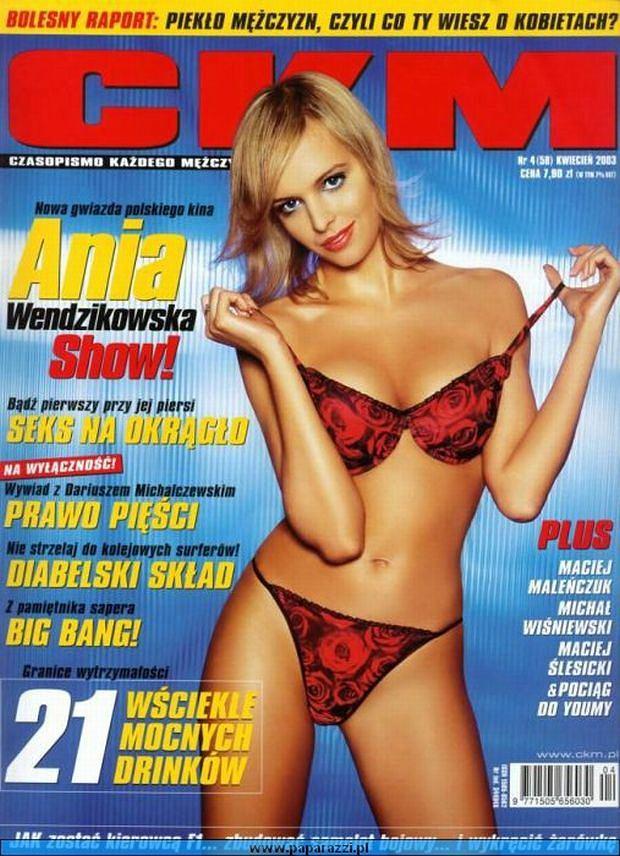 Anna Wendzikowska NAGA na okładce magazynu (ZDJĘCIA)