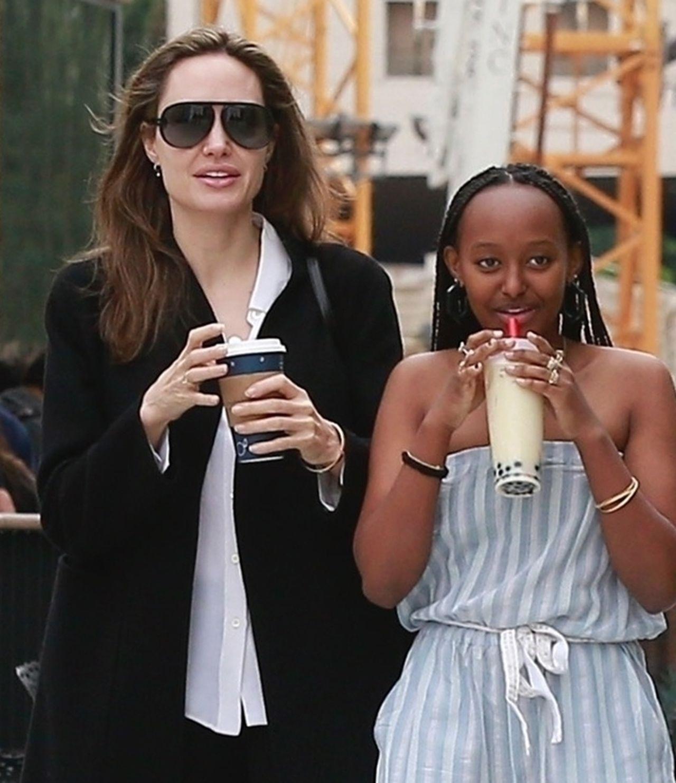 Wow! Zahara Jolie Pitt (14 l.) wyrasta na prawdziwą gwiazdę!