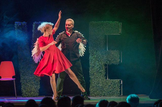 Aneta Zając na premierowym spektaklu w teatrze (FOTO)