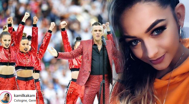 Sukces polskiej tancerki – wystąpiła z Robbie Williamsem na otwarciu Mundialu!
