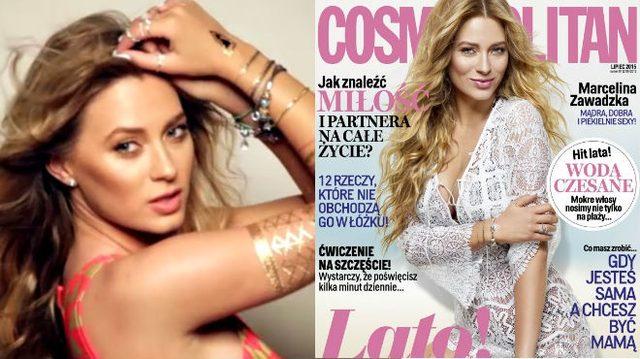 Marcelina Zawadzka w Cosmo: Moją przekąską są kabanosy