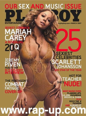 Mariah Carey w Playboyu