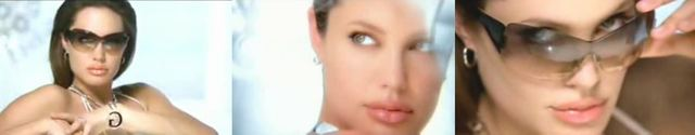 Jolie w reklamie Shiseido
