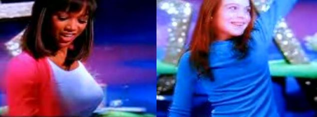 Lindsay Lohan w 2000 roku