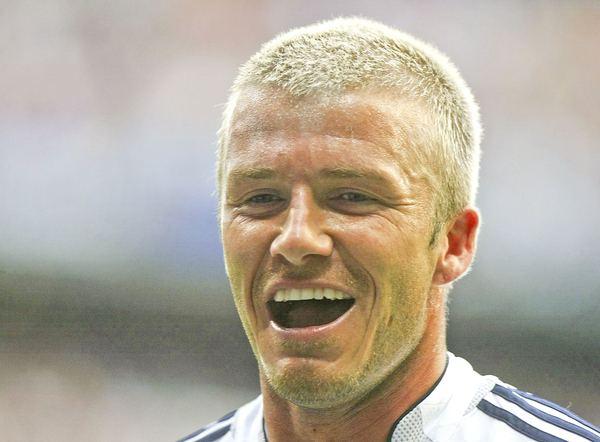 David Beckham na boisku