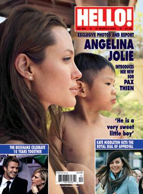 Jolie już zarabia na nowym synku