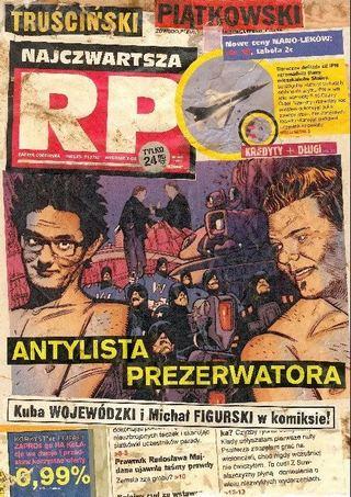 Wojewódzki i Figurski w komiksie!