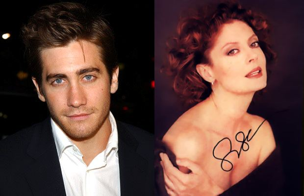 Co Gyllenhaal robił leżąc w damskiej toalecie?